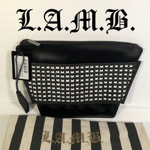 L.A.M.B. Leather Clutch✨NWT✨